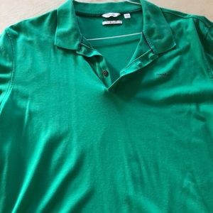 Calvin Klein Shirts - CK XL liquid touch polo